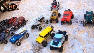 RC ADVENTURES - 13 RC 4X4 Trucks, Into the Core Pt 2 - RC URBAN ASSAULT in Downtown Calgary!