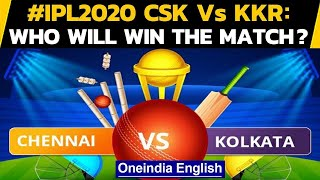IPL 2020: CSK VS KKR: MS Dhoni's men to play for pride against Eoin Morgan's side | Oneindia Hindi