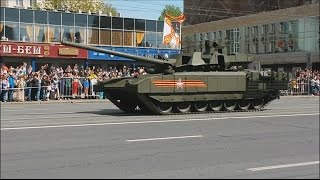 2015 05 09 WWII Victory parade Moscow, Russia, Military vehicles part (FullHD)