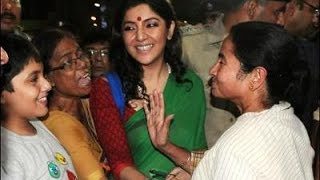 Mamata's close TMC Member Locket Chatterjee walks into BJP camp - TOI