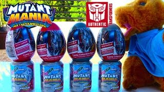 Mutant Mania and Transformers Surprise Eggs with Surprise Eggs Game - Kids' Toys