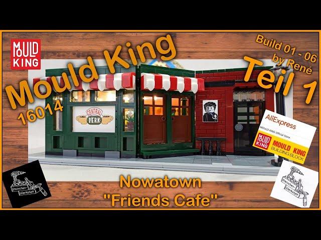 Big Bang Theory und Friends Modular vereint   Teil 1   Brickpolis & Mould King   16014 Friend Cafe