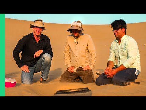 Iran Desert Food Disaster!!! Food Tour GONE WRONG in Central Iran!!