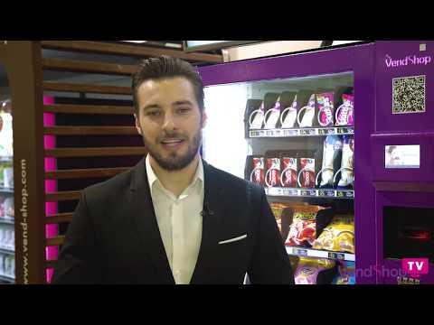 Обзор с выставки VendExpo 2019: новинки вендинга. Вендинговый бизнес с торговыми автоматами VendShop