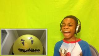 Bad Baby Giant Balloon Stalker ATTACKS Shiloh - Onyx Kids - Reaction!!!!!!!!