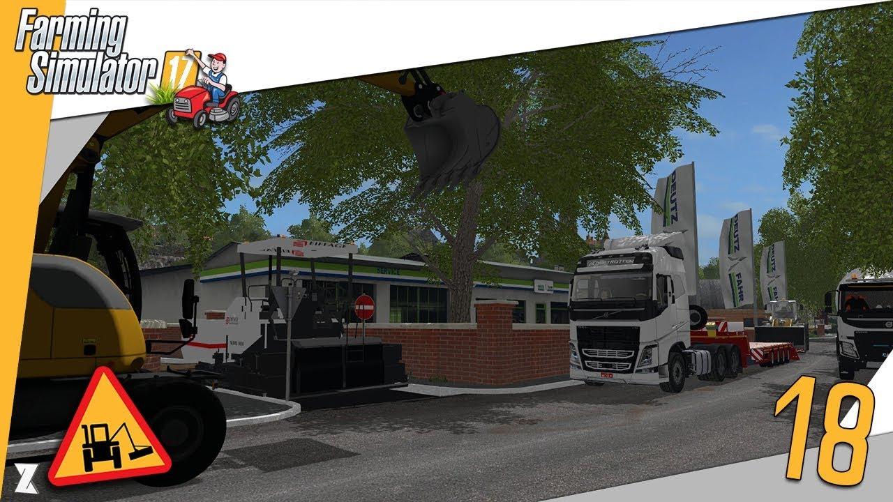 farming simulator 17 entretien communal 18 on refait une ruelle beau chantier youtube. Black Bedroom Furniture Sets. Home Design Ideas
