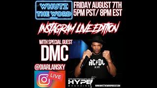 Diar Lansky Interviews The Legendary DMC On Instagram Live.