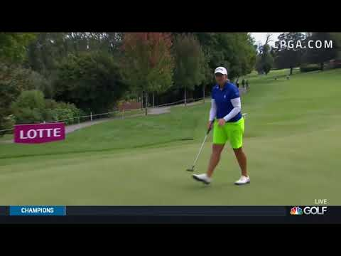 Angela Stanford Early Second Round Highlights - 2017 Evian Championship
