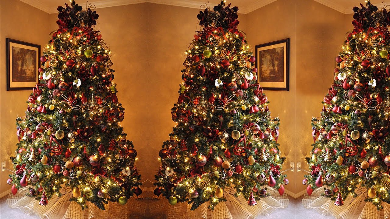 how to decorate a christmas tree step by step - Steps To Decorating A Christmas Tree