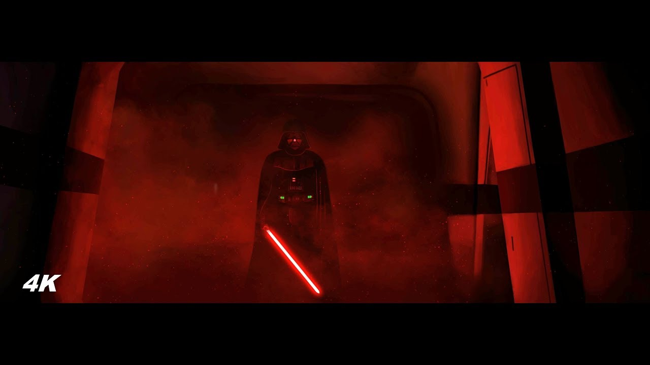 Darth Vader Rogue One Ending Scene 4k