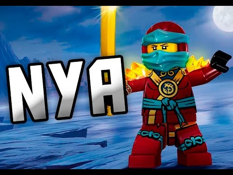 LEGO® Ninjago - Character Spot Nya [Fan Made] - YouTube