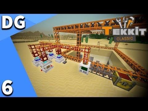 Minecraft Tekkit Classic | BUILDCRAFT QUARRY!!! | Episode 6 | Modded Singleplayer Survival