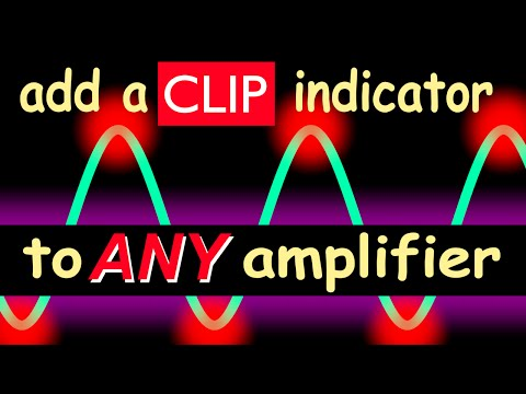 clip indicator circuit for any power amplifier youtubeAudio Clipping Indicator #17