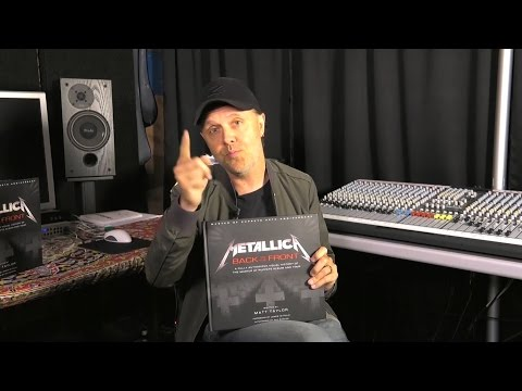 "Lars Announces ""Metallica: Back to the Front"" Book"
