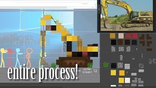 """The Building Contest"" Behind the Scenes - Time Lapse & Commentary"