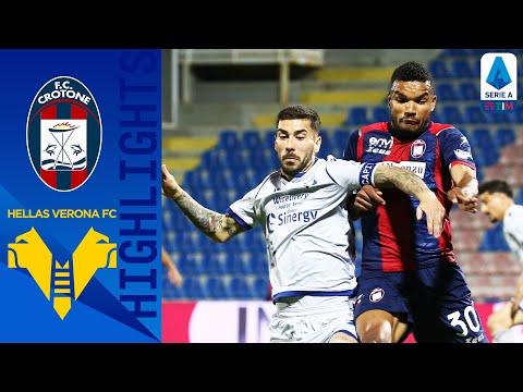 Crotone Helas Verona Goals And Highlights