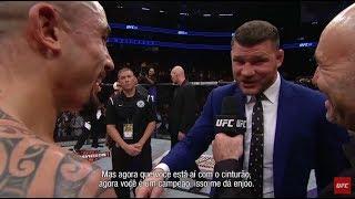 UFC 213: Whittaker é confrontado por Bisping no octógono