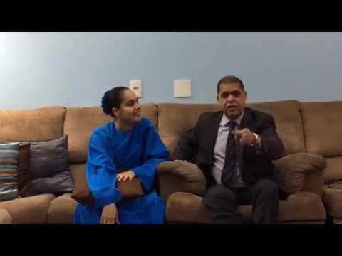 Pastor Marcos Pereira e Nívea Silva dando uma palavra para você