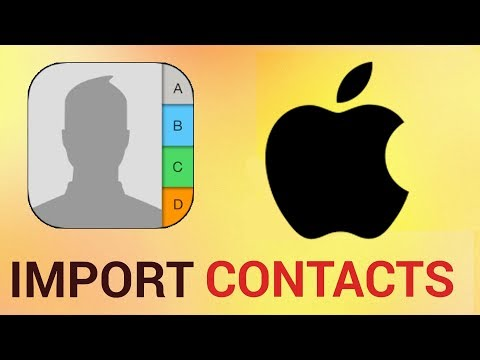 How to import contacts from CSV on iPhone and iPad