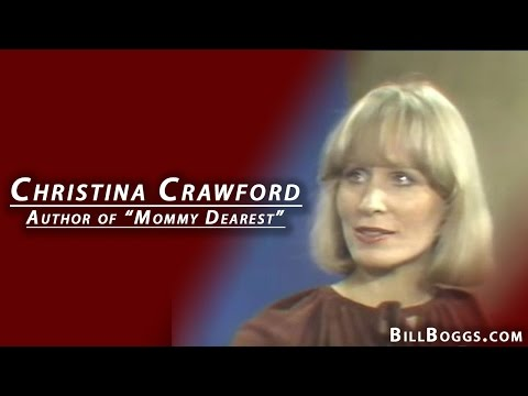 "Christina Crawford, Author of ""Mommie Dearest"", Interview with Bill Boggs"