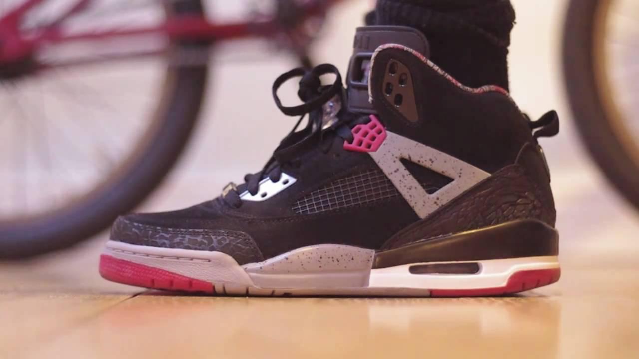 Air Jordan Spizike's On Feet - YouTube