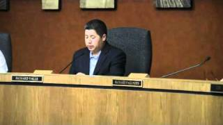 Kings County Board of Supervisors No High Speed Rail Part 1