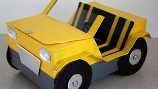 How To Make A Doll Car - Doll Crafts