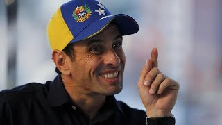 Opposition leader Henrique Capriles, a two-time candidate for the presidency of Venezuela, From YouTubeVideos