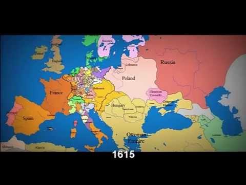 Granice Panstw Europy Polska Od 1140 Roku Do 2012r Youtube