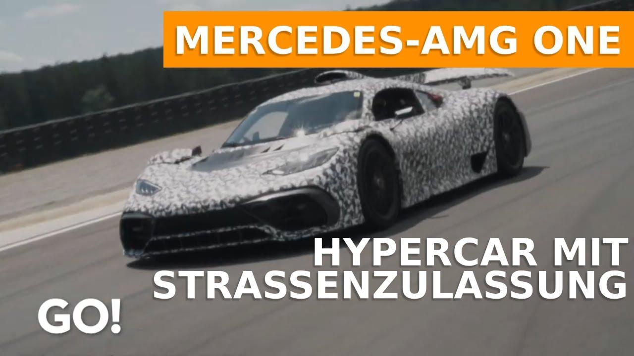 ein hypercar mit strassenzulassung der mercedes amg one