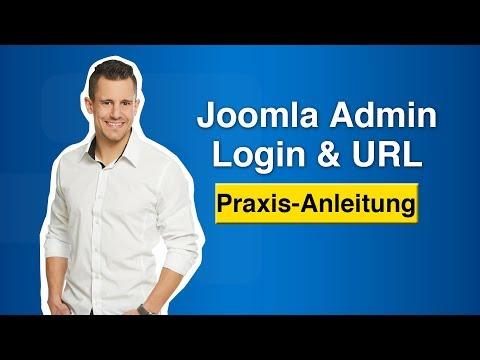Joomla Admin Login - Zugang & Administrator-Anmeldung