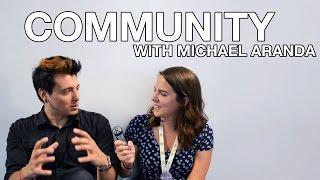 Interview with Michael Aranda   VidCon 2016
