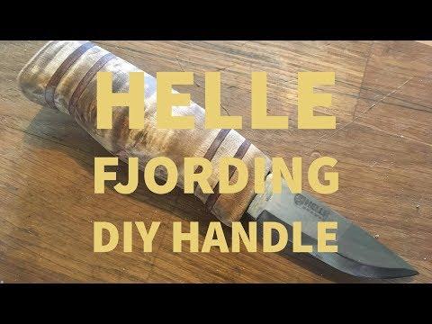 DIY Curly Birch Handle for Helle Fjording Knife