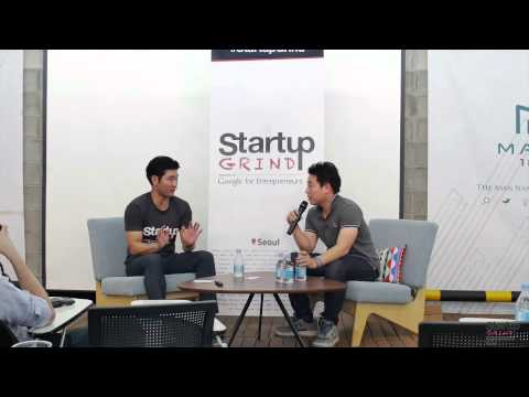 Simon Lee (Flitto) at Startup Grind Seoul