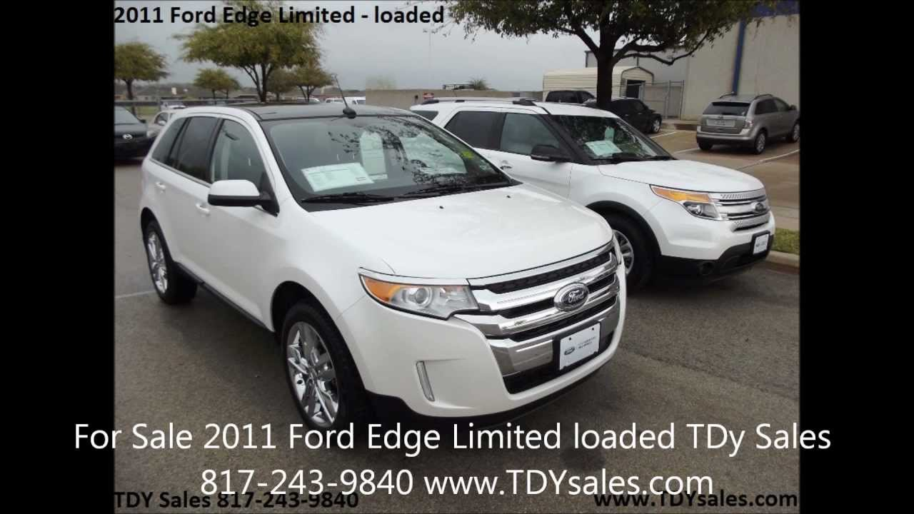 For Sale  Ford Edge Limited K Miles Navigation Sunroof Tdy Sales