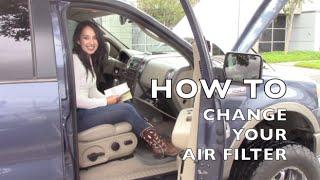 How to Install/Replace Air Filter F150 – OriginalWheel.com