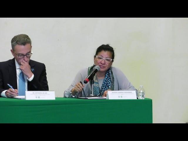 Discurso de la Ombudsperson capitalina, Nashieli Ramírez, Día Mundial contra la Trata
