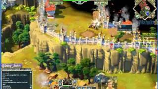 Age Of Empires Online Walkthrough - Pt.194 Greek - Defeat Paphos (ii) (bugged)