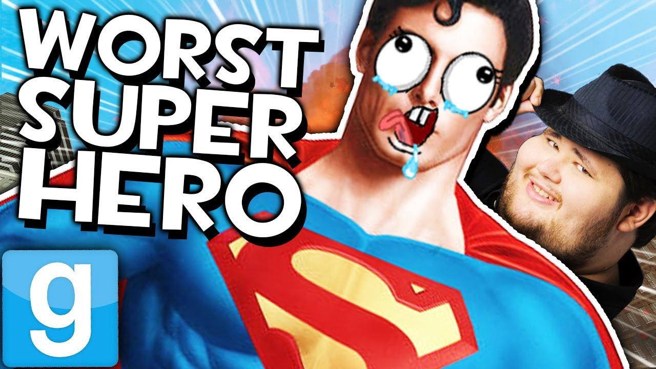 Superman Is Super Lame Gmod Sandbox Funny Mods