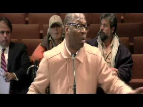 Birmingham Pastor's explosive speech about gay marriageduring city council meeting