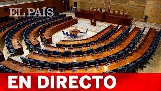 DIRECTO | Pleno de INVESTIDURA de la COMUNIDAD DE MADRID