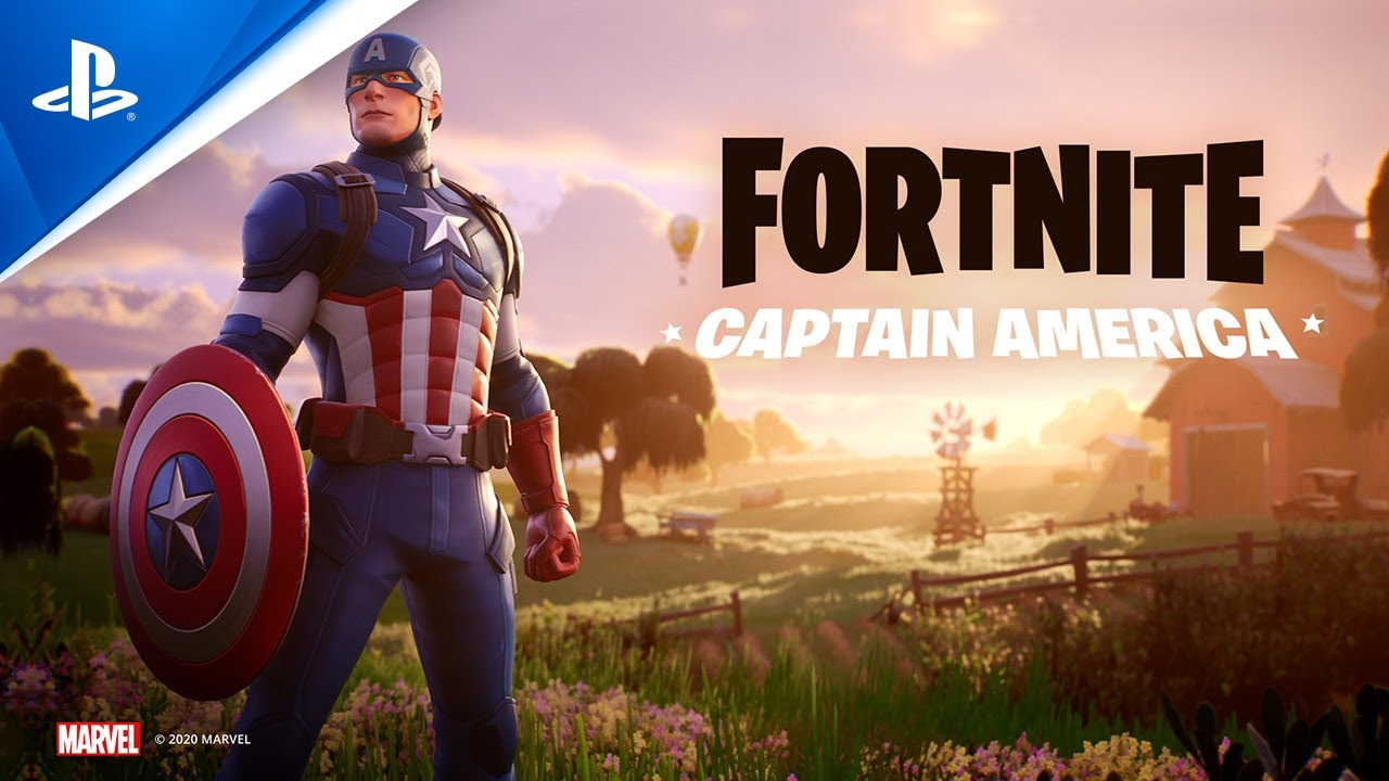 Fortnite - Captain America Outfit | PS4