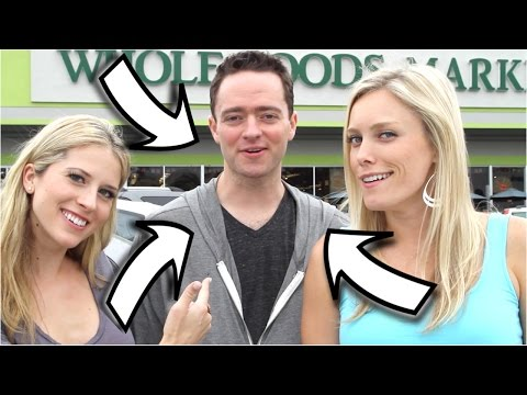 How Many Girls can One Guy Pick Up at Whole Foods? | Bizarre Foods | How 2 Travelers