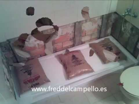 Cambio ba era por kit plato de ducha youtube for Kit reparacion plato ducha