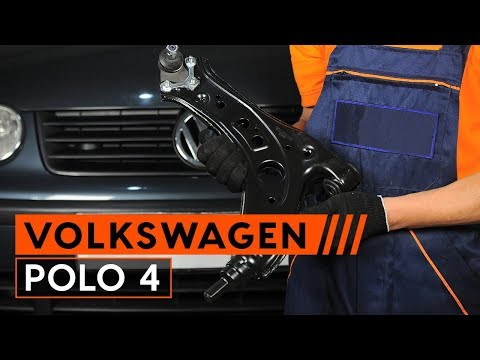 How to replace suspension arm on VW POLO 4 [TUTORIAL AUTODOC]