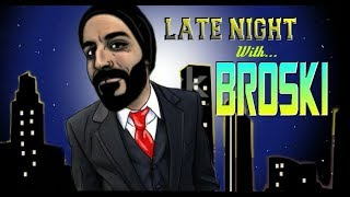 Late Night with Broski - Tonkasaw and Broski speed eating commentary