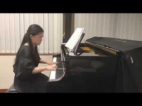 E-MusicMaestro Graded Piano Online Competition 2020 (Asia Pacific) Post Grade 8- 2nd Prize