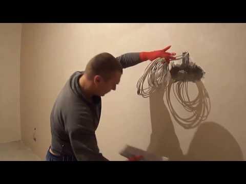 Шпаклёвка стен под обои (финишная шпаклёвка)