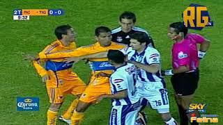 Pachuca vs Tigres 1-1 RESUMEN Jornada 17 Apertura 2009 Liga Mx HD