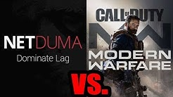 NetDUMA R1 DUMAOS Gaming Router vs COD Modern Warfare 2019 - Does It Reduce Lag & Improve KD Ratio?